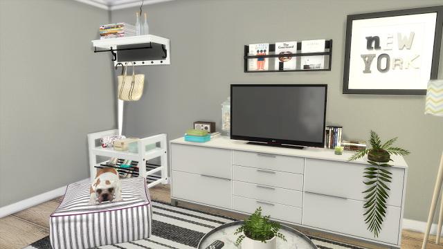 Ikea Kitchen + Livingroom at Dinha Gamer image 1697 Sims 4 Updates