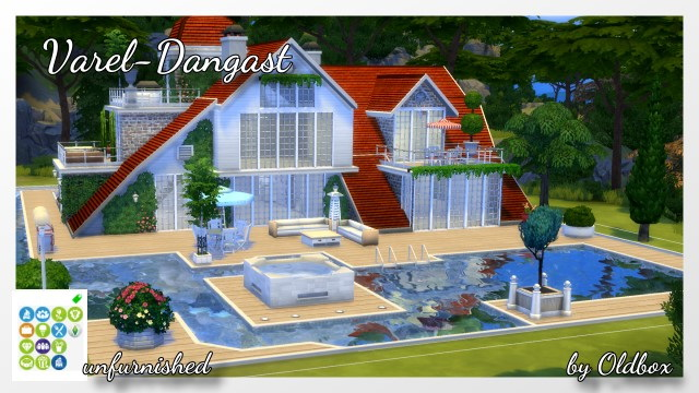 Varel Dangast house by Oldbox at All 4 Sims image 17114 Sims 4 Updates