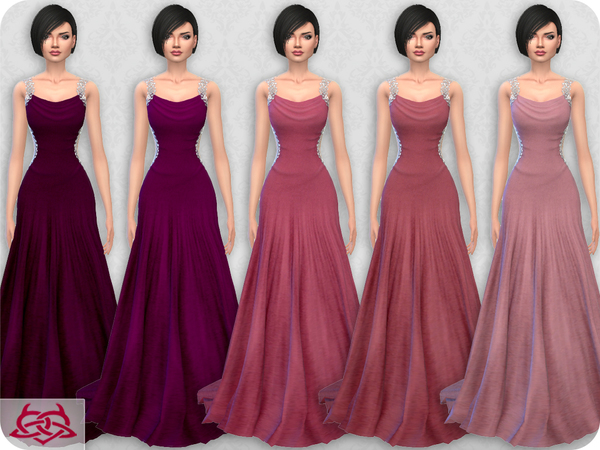 Wedding Dress 10 RECOLOR 3 by Colores Urbanos at TSR image 1712 Sims 4 Updates