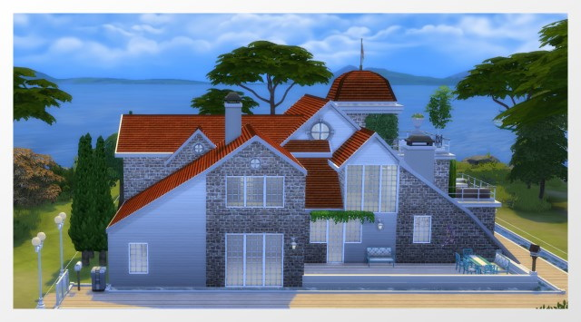 Varel Dangast house by Oldbox at All 4 Sims image 17211 Sims 4 Updates