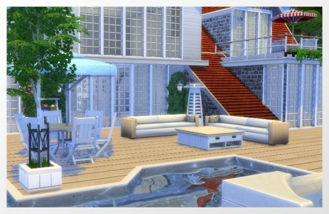 Varel Dangast house by Oldbox at All 4 Sims image 17310 670x436 Sims 4 Updates
