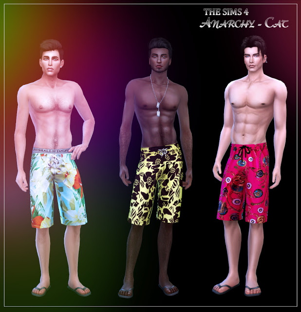 Shorts for males #2 at Anarchy Cat image 1742 Sims 4 Updates