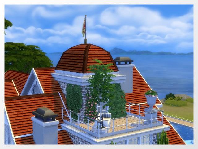 Sims 4 Varel Dangast house by Oldbox at All 4 Sims