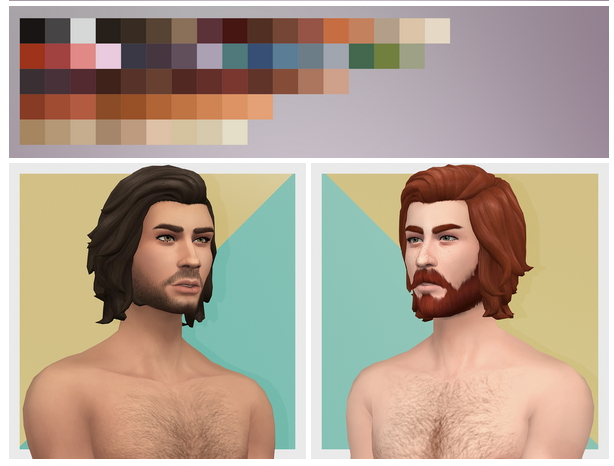 EP03 Wavy Male Hair Edit at Busted Pixels image 1753 Sims 4 Updates