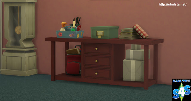 Sims 4 Hallway Table at Simista