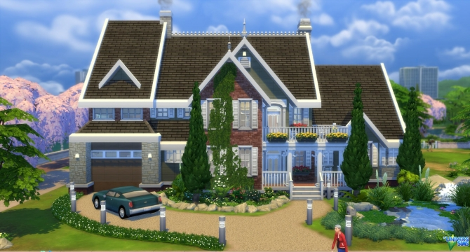 Welcome Suburban Family By Vanderetro At L Universims
