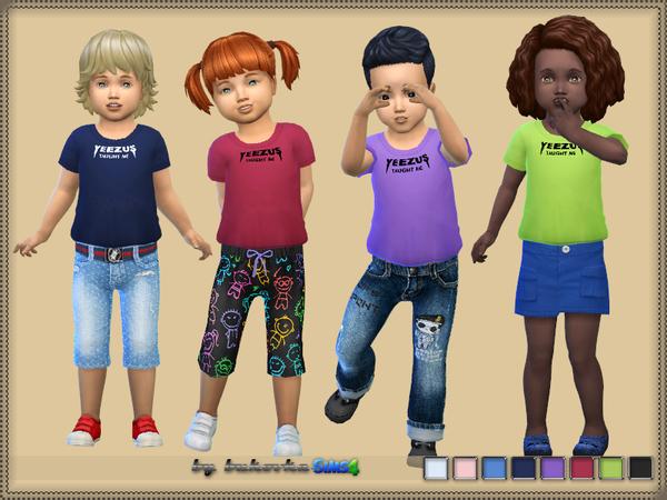 T shirts by bukovka at TSR image 1818 Sims 4 Updates