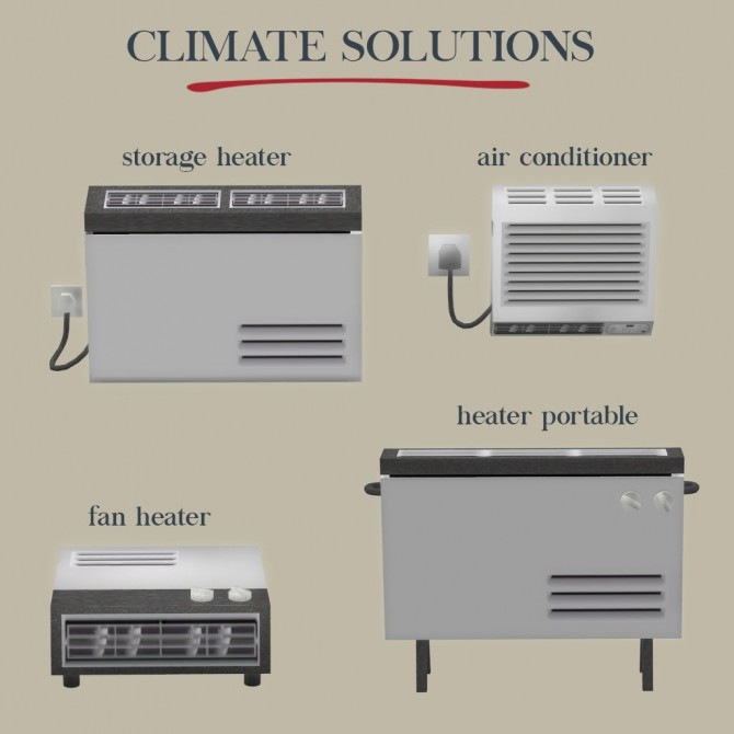 Climate solutions at Leo Sims image 1865 670x670 Sims 4 Updates
