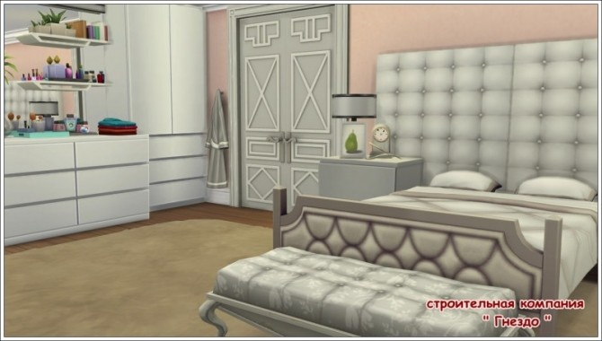 Sims 4 Classic bedroom at Sims by Mulena