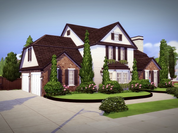 Monridge House By Melcastro91 At Tsr 187 Sims 4 Updates