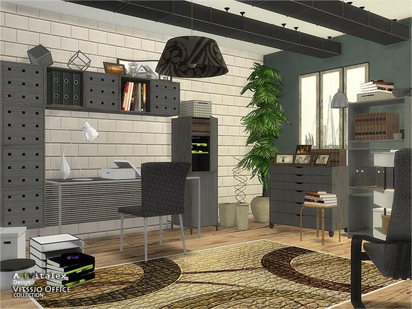 Vitssjo Office by ArtVitalex at TSR image 1916 Sims 4 Updates