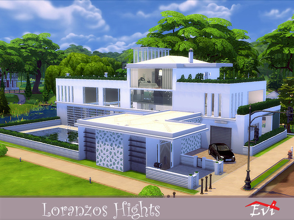 Loranzo Hights by evi at TSR image 1918 Sims 4 Updates
