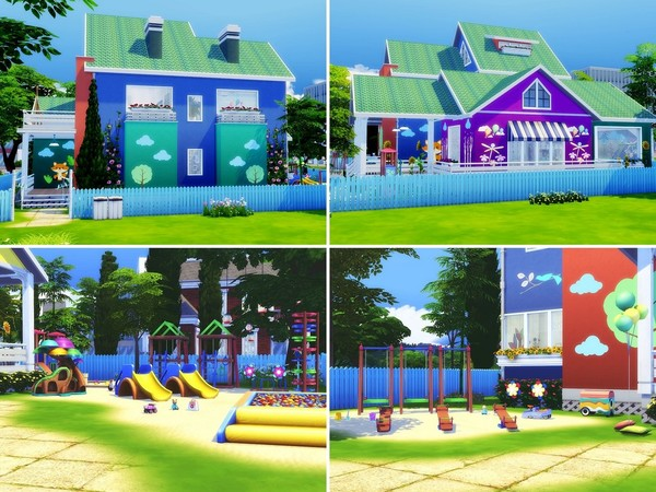 Sims 4 Kindergarten by MychQQQ at TSR