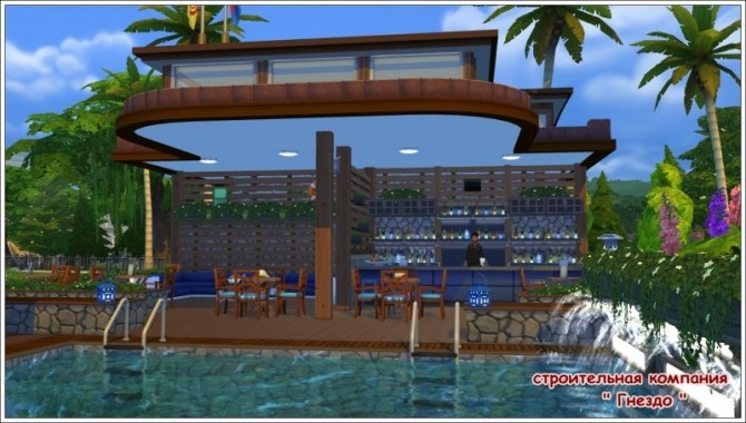 Breeze swimming pool & cafe ship at Sims by Mulena image 1931 670x380 Sims 4 Updates