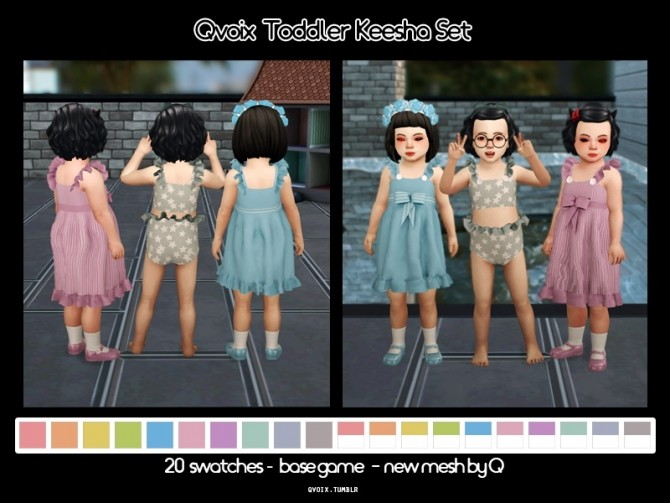 Sims 4 Keesha Set T at qvoix – escaping reality