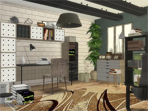 Vitssjo Office by ArtVitalex at TSR image 2010 Sims 4 Updates