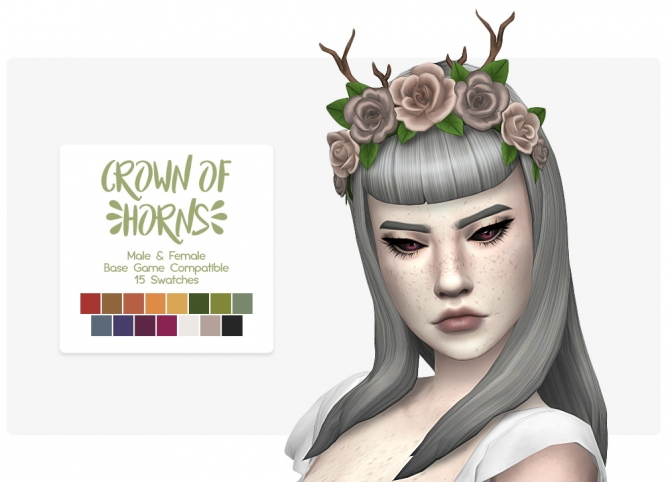 Crown Of Horns At Nolan Sims 187 Sims 4 Updates