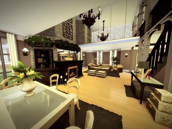 Sims 4 Monridge house by melcastro91 at TSR