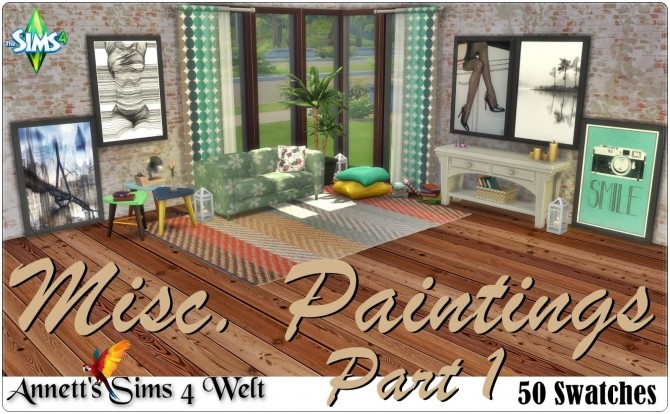 Misc. Paintings Part 1 at Annett's Sims 4 Welt image 2061 670x414 Sims 4 Updates
