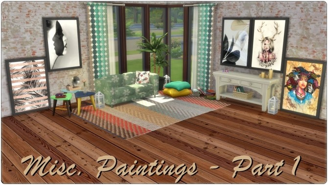 Misc. Paintings Part 1 at Annett's Sims 4 Welt image 2071 670x379 Sims 4 Updates