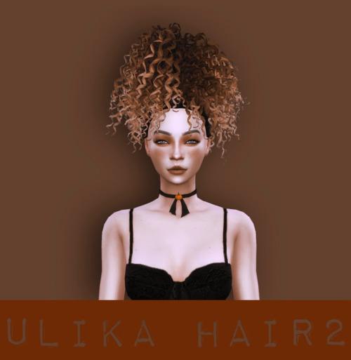 Sims 4 Convert hair 2 at Kumvip – UliKa