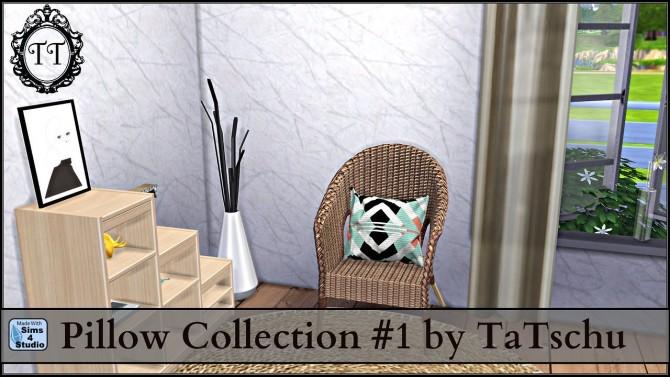 Sims 4 Pillow Collection #1 at TaTschu`s Sims4 CC