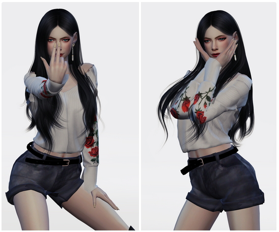 SUNMI GASHINA DANCE POSES SET at Flower Chamber image 2102 Sims 4 Updates