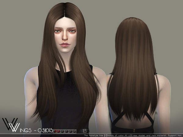 Sims 4 Hair OS1015 by wingssims at TSR