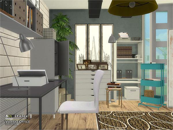 Vitssjo Office by ArtVitalex at TSR image 2110 Sims 4 Updates