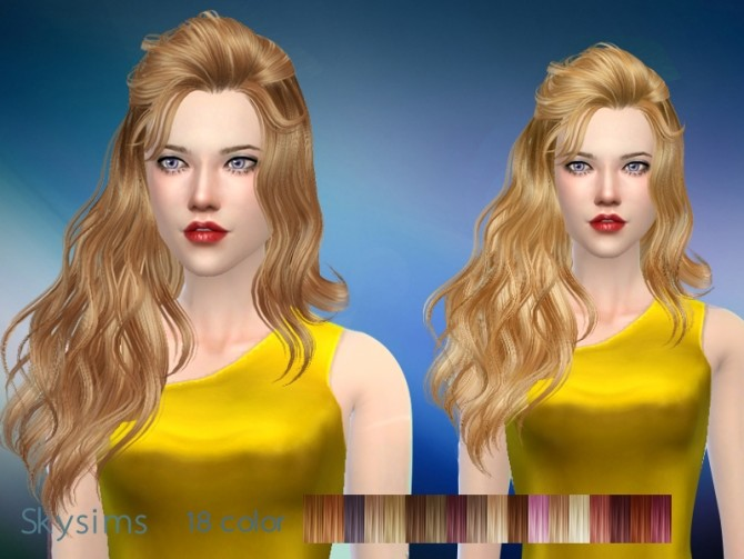 Sims 4 Hair 087 by Skysims at Butterfly Sims