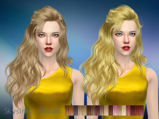 Hair 087 by Skysims at Butterfly Sims image 2143 670x503 Sims 4 Updates