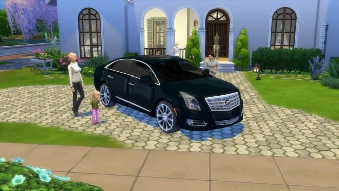 Sims 4 Cadillac XTS at LorySims