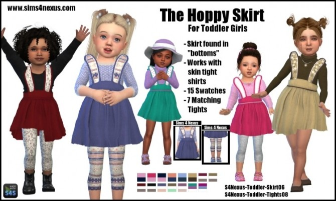 The Hoppy Skirt by SamanthaGump at Sims 4 Nexus image 2183 670x402 Sims 4 Updates