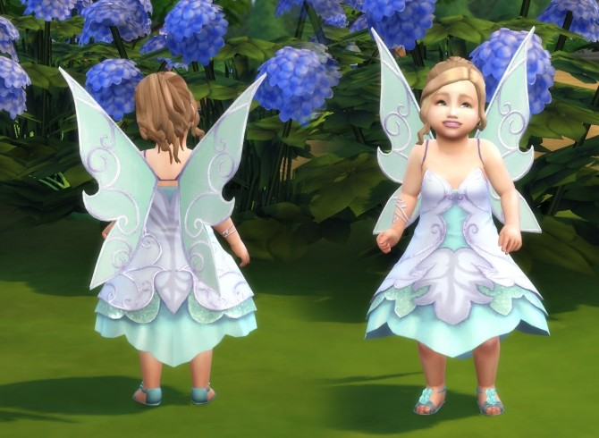 Fairy Dress For Toddlers At My Stuff 187 Sims 4 Updates