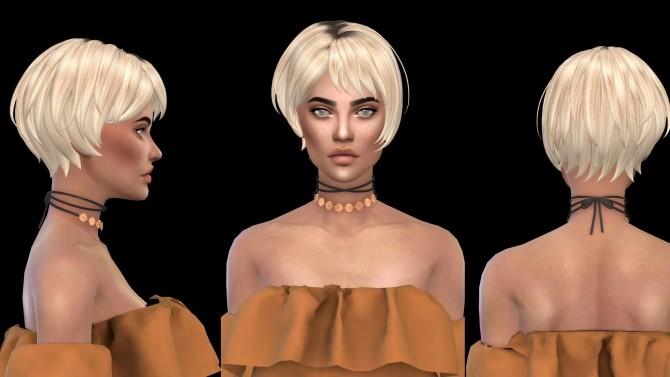 Sims 4 Mira Hair at Leo Sims