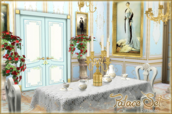 Palace Set at Helen Sims image 2205 Sims 4 Updates