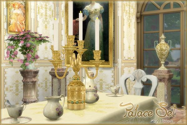 Palace Set at Helen Sims image 22112 Sims 4 Updates