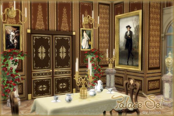 Sims 4 Palace Set at Helen Sims