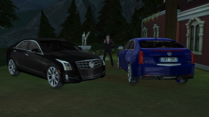 Sims 4 Cadillac ATS at LorySims
