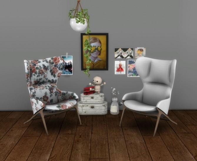 Sims 4 Bonn Chair at Leo Sims