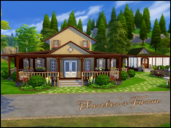 Planters Farm by sparky at TSR image 2313 Sims 4 Updates