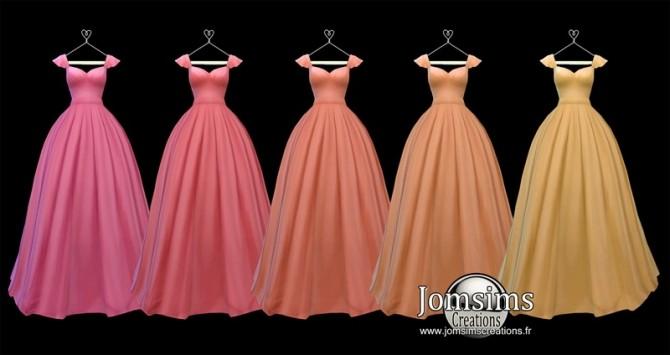Lediane Dress at Jomsims Creations image 2323 670x355 Sims 4 Updates