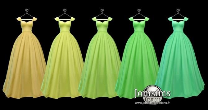 Lediane Dress at Jomsims Creations image 2333 670x355 Sims 4 Updates
