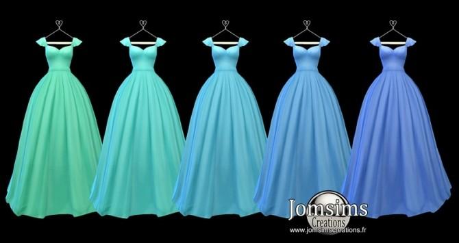 Lediane Dress at Jomsims Creations image 2343 670x355 Sims 4 Updates