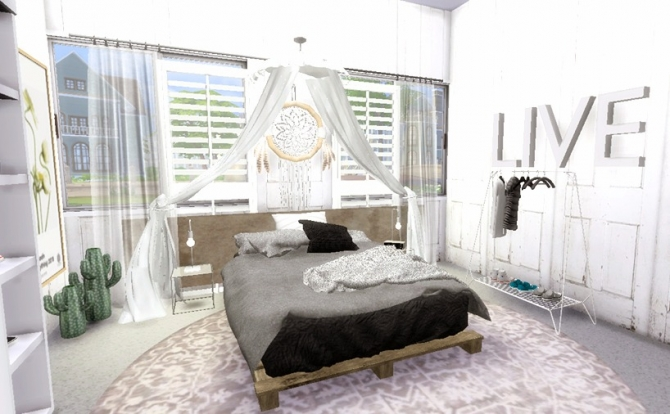 Zen Bedroom At Sims4 Luxury 187 Sims 4 Updates