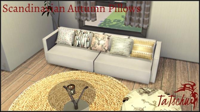 Scandinavian Autumn Pillow Set at TaTschu`s Sims4 CC image 2352 670x377 Sims 4 Updates