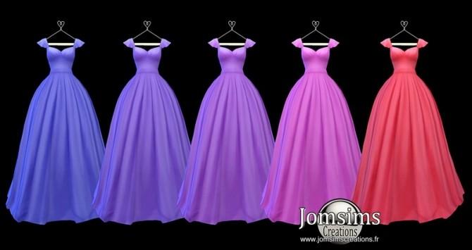 Lediane Dress at Jomsims Creations image 2353 670x355 Sims 4 Updates