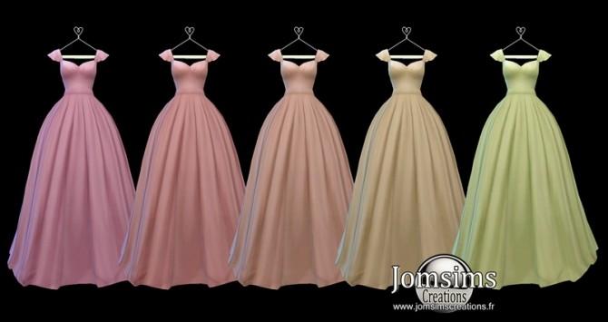 Lediane Dress at Jomsims Creations image 2362 670x355 Sims 4 Updates