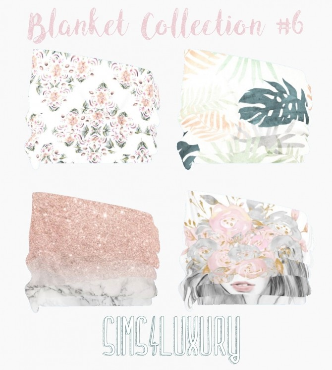 Sims 4 Blanket Collection #6 at Sims4 Luxury