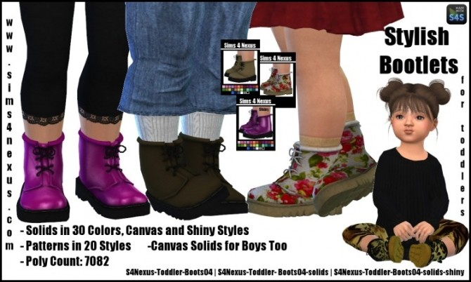 Stylish Bootlets by SamanthaGump at Sims 4 Nexus image 2371 670x402 Sims 4 Updates